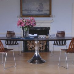 Unusual Chair Company Chichester Foldable Table And Chairs Julian Furniture Lighting Mirrors Dakota Ebonised Oak Oval
