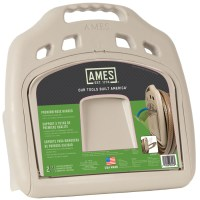 150' Wall mount poly hose hanger with storage bin | Ames