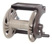 NeverLeak Poly Wall Mount Hose Reel with Tray | Ames