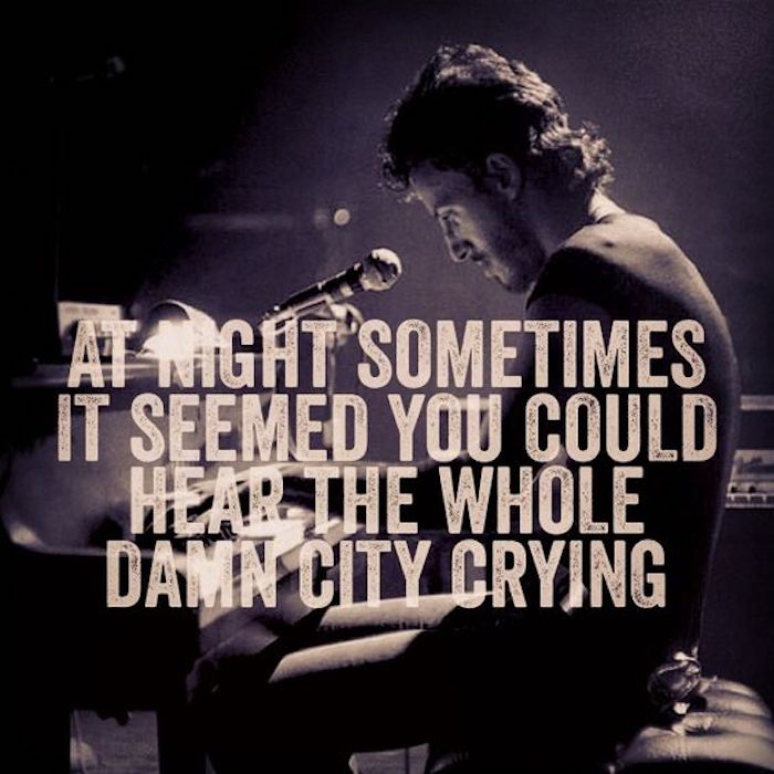 best bruce springsteen lyrics ever