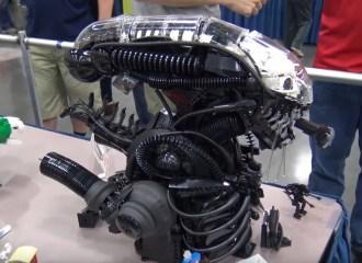 LEGO Alien Bust