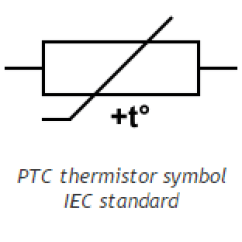 Thermistor Symbol Electrical Diagram Human Vascular Anatomy What Is A Ptc