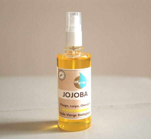 huile de jojoba bio amethic
