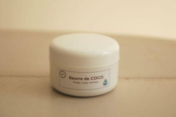 beurre de coco bio amethic
