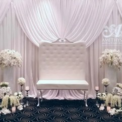 Chairs Wedding Decoration Pier One Luxe Bridal Stage Package | Amethyst & Event Decor