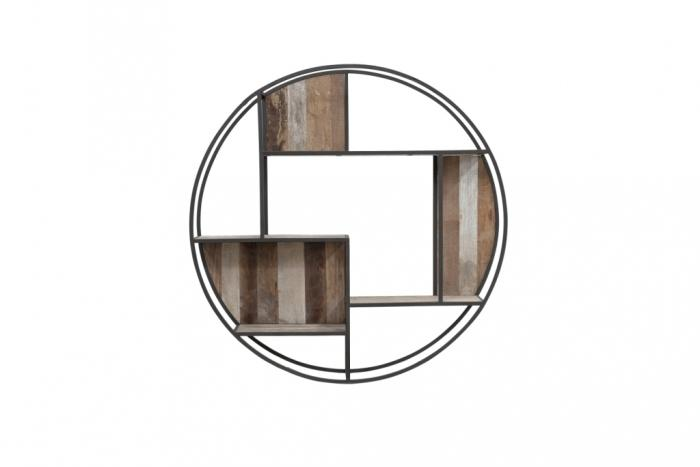 etagere murale ronde diametre 80 cm d bodhi