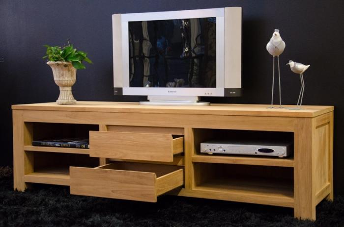 meuble tv en teck timea 170 cm