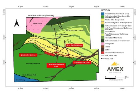 Figure 1 Perron Gold Zones June 25 2020 pr