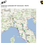 "THREE HUNDRED AND FIFTY LAMBORGHINIS ON GRAND TOUR OF ITALY FOR 50TH ANNIVERSARY OF ""HOUSE OF THE RAGING BULL"""