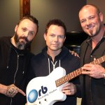 BLUE OCTOBER'S MATT NOVESKEY AND C.B. HUDSON OPEN ORB RECORDING STUDIOS