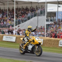 VALENTINO ROSSI PARTICIPATES IN GOODWOOD FESTIVAL OF SPEED