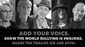 """STARS LEND THEIR VOICE TO """"NO JOKE,"""" THE ANTI-BULLYING DOCUMENTARY"""