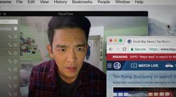 SEARCHING:  Filmmakers Aneesh Chaganty and Co-Writer Sev Ohanian