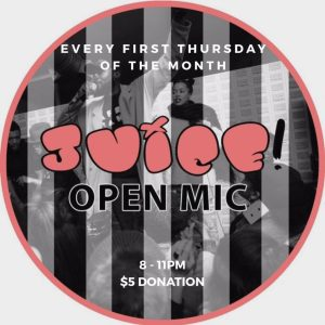 Juice Open Mic @ AMFM Gallery