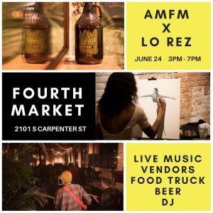 Fourth Market at Lo Rez @ AMFM Gallery  | Chicago | Illinois | United States