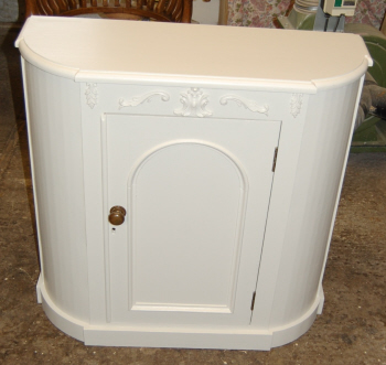 Gas Meter Cover and Corner Cabinet