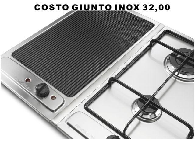 BH10AVFX  Piano Cottura 30 incasso cucina Nardi BH10AVFX 1 fuoco pesciera Inox  Ecommerce