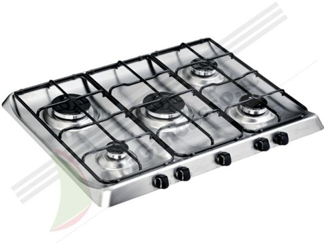 PIM750ASIX  Piano Cottura 70 incasso cucina INDESIT PIM 750 AS IX 5 Fuochi Inox  Ecommerce