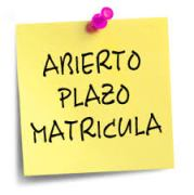 PLAZO MATRICULA