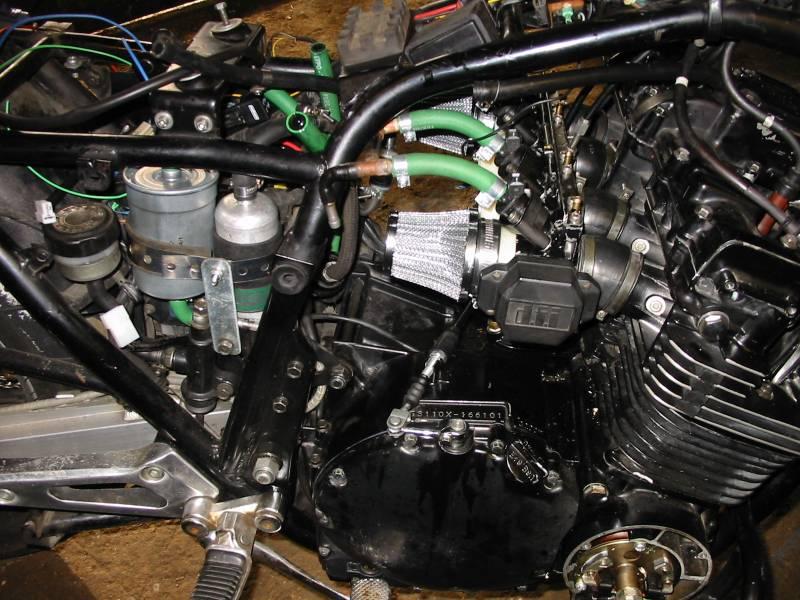 Motorcycle Inline Fuel Filter Megasquirted Suzuki Gsx1100e