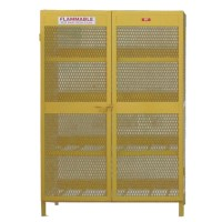 Propane Cylinder Storage Cabinets. Gas Cage Direct Solid ...