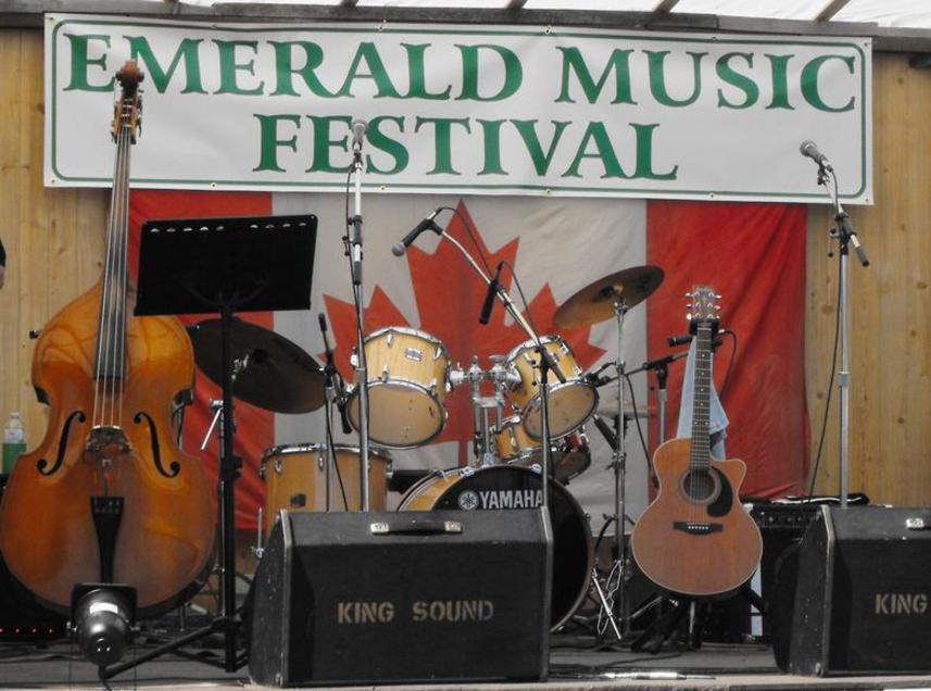 Emerald Music Festival Banner