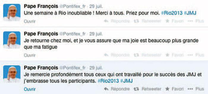 tweets pape - La Pastorale 2.0