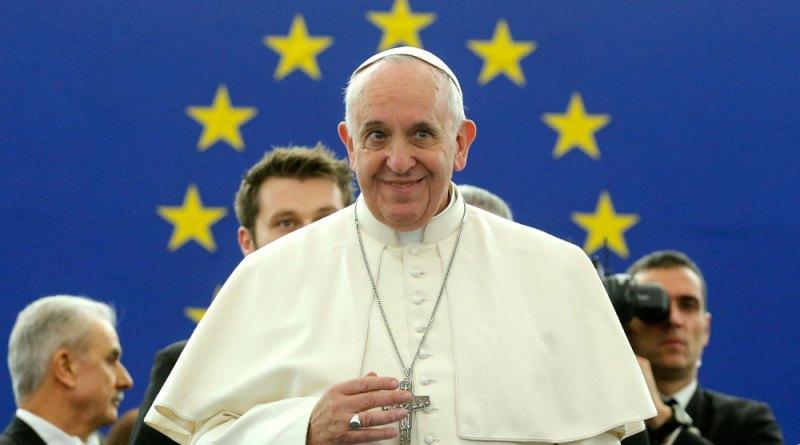 Pape Europe CH - Le Pape François aux institutions européennes