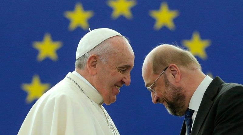 PapeCH2 - Le Pape François aux institutions européennes