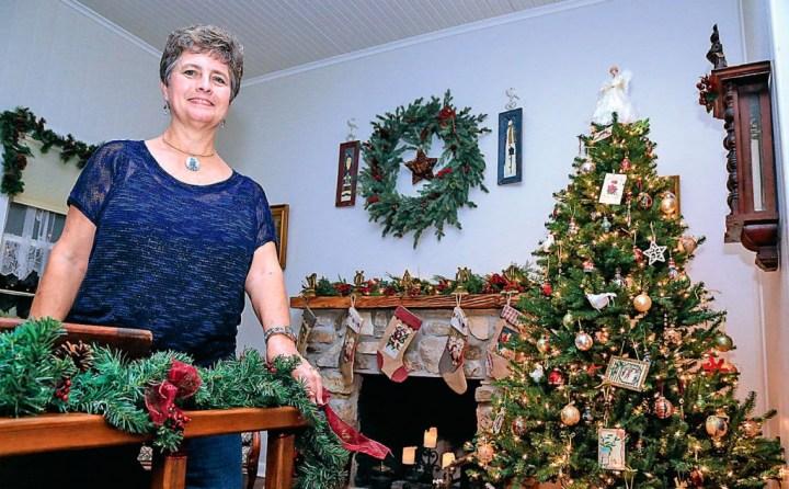 Dianne Keeton, comme les autres descendants d'émigrés alsaciens au Texas, célèbre Noël en pensant à l'Alsace. - Photo FM