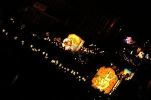 Plus de 200 lanternes sont créées chaque année par les cliques du carnaval. Photo: Florent Mathern