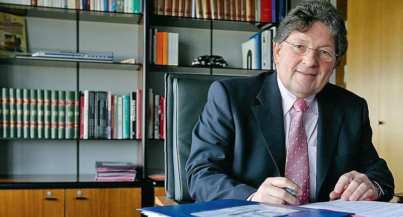knnel - Guy-Dominique Kennel, président sortant du CD67