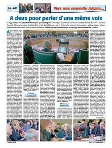 À lire dans le numéro de L'Ami hebdo daté du 4 octobre l'article de Florent Mathern sur la rencontre des conseils départementaux…