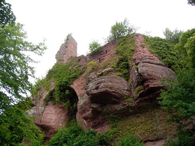 Le donjon du Guibraden - Photo Pethrus