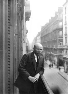 Albert Kahn en 194 - Photo Georges Chevalier