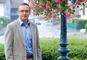 Alain Grieneisen, maire de Burnhaupt-le-Bas - Photo FM