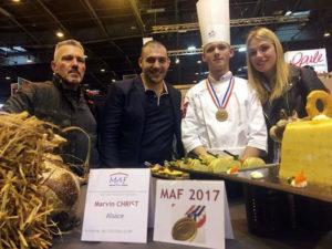 marvin christ1 - Un Alsacien sacré meilleur apprenti de France Charcutier-Traiteur 2017