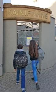 photo wendling - L'Ecole Sainte-Anne se dote d'un lycée