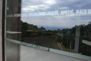 IMG 9975 - Au Hartmannswillerkopf, l'Historial comme carrefour pour penser la paix