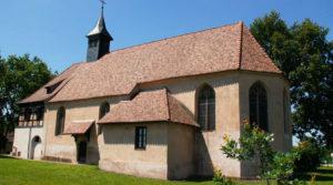 vignette - Plobsheim, le bretzel de Notre-Dame du chêne