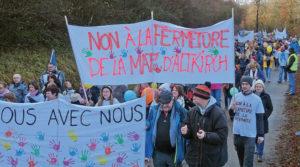 fermeture - Mobilisation générale pour la maternité de l'hôptal Saint-Morand
