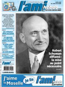 AFC 01 12 FM - Robert Schuman diffamé : la mise au point nécessaire