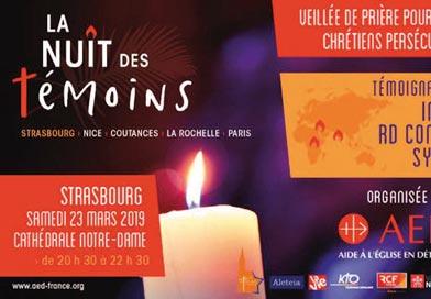 Nuit des Témoins à Strasbourg
