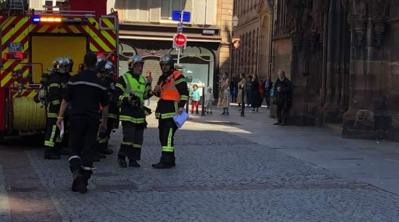 IMG 5201 - Exercice d'incendie à la Cathédrale de Strasbourg