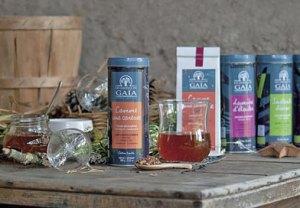 gaia - Les Jardins de Gaïa, pionniers des thés bios. Mais pas seulement…