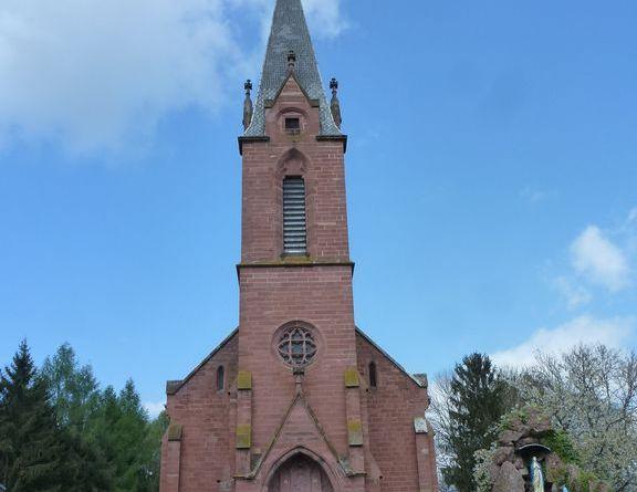 p1250203 resultat - Allenwiller – Eglise catholique Saint-Michel