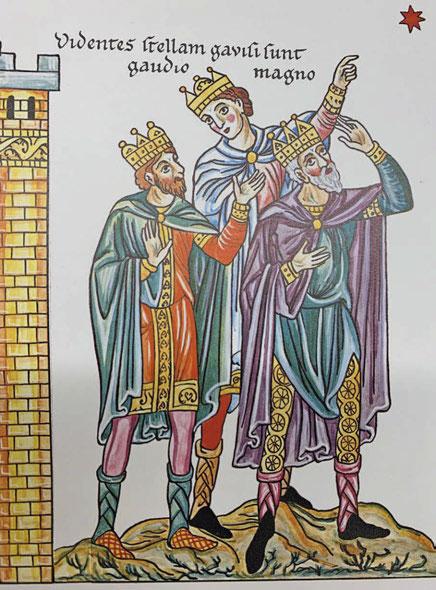 rois mages2 - La bretzel du Nouvel an et les rois mages