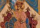 Notre-Dame sur le trône aux grenades
