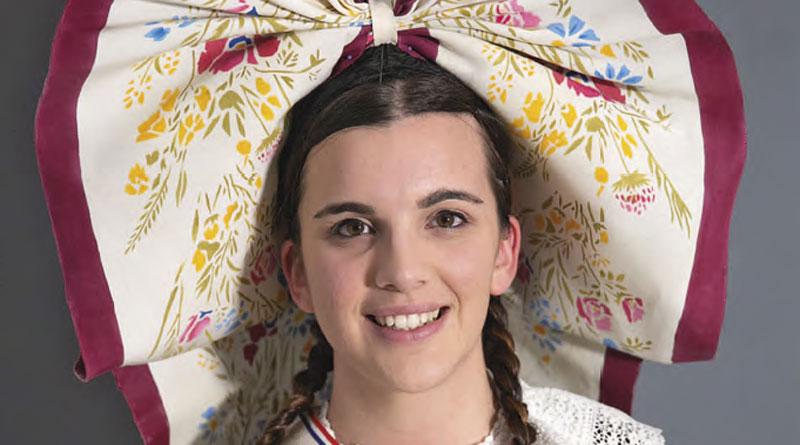 Aline Krebs, l'ambassadrice du folklore français