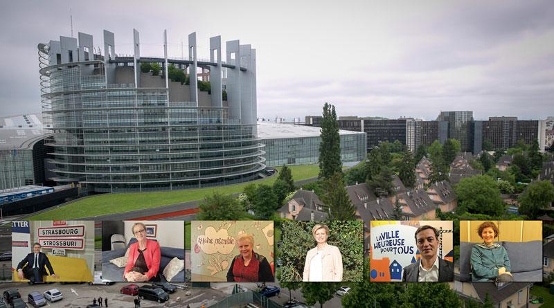 elections - L'enjeu européen de Strasbourg vu par les têtes de listes aux Municipales
